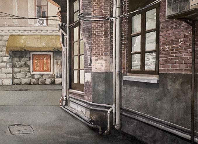 Miguel Leache. Un callejón en Shanghai.